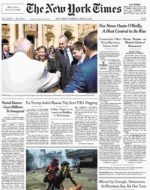 New York Times Cover 4-20-17